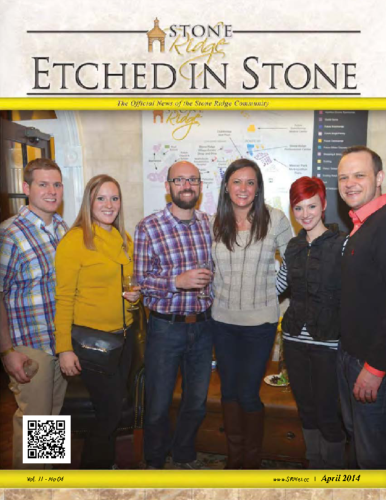 April 2014 Etched In Stone Newsletter