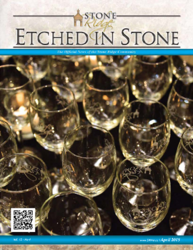 April 2015 Etched In Stone Newsletter