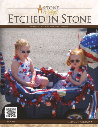 August 2012 Etched In Stone Newsletter