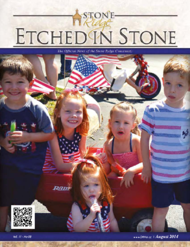 August 2014 Etched In Stone Newsletter
