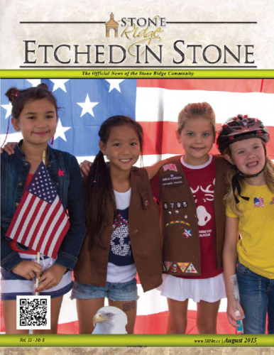 August 2015 Etched In Stone Newsletter