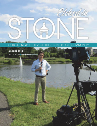 August 2017 Etched In Stone Newsletter