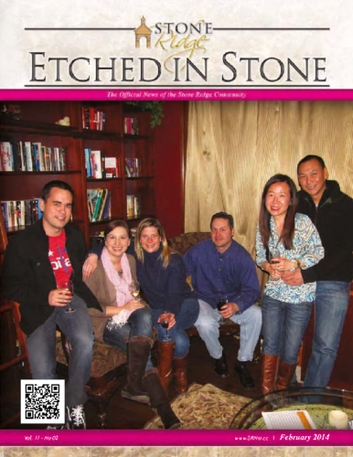 February 2014 Etched In Stone Newsletter