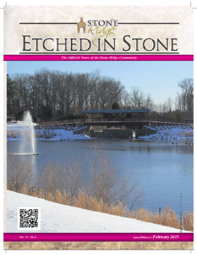 February 2015 Etched In Stone Newsletter