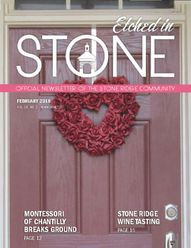 February 2018 Etched In Stone Newsletter