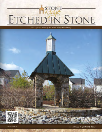 January 2013 Etched In Stone Newsletter