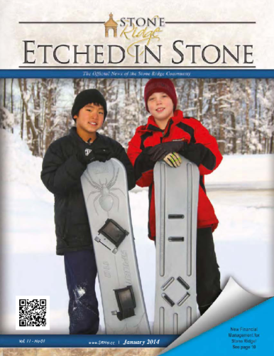 January 2014 Etched In Stone Newsletter