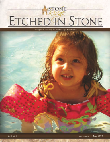 July 2012 Etched In Stone Newsletter