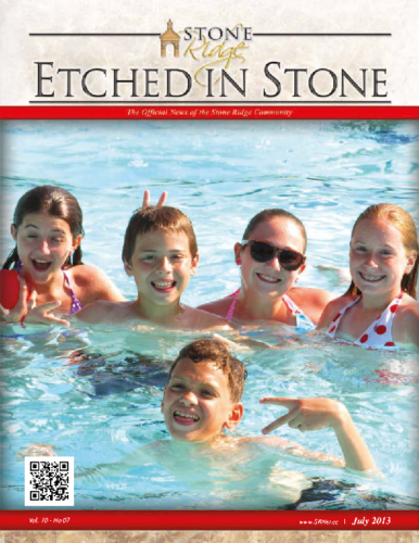 July 2013 Etched In Stone Newsletter
