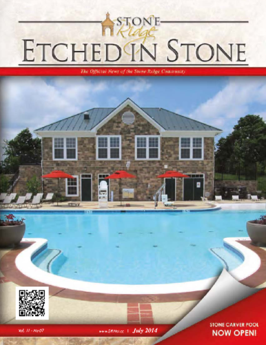 July 2014 Etched In Stone Newsletter