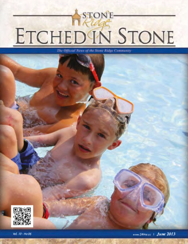 June 2013 Etched In Stone Newsletter