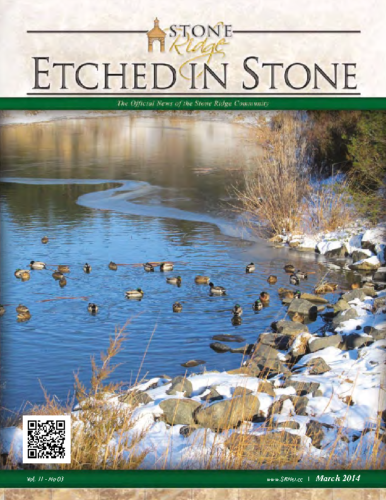 March 2014 Etched In Stone Newsletter