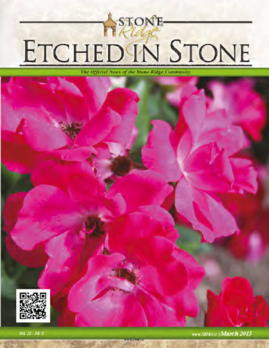 March 2015 Etched In Stone Newsletter