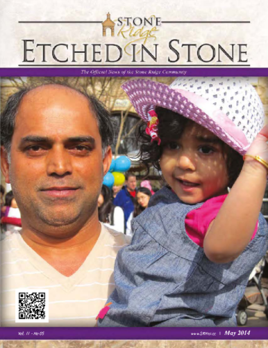 May 2014 Etched In Stone Newsletter