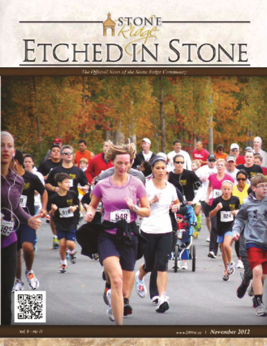 November 2012 Etched In Stone Newsletter