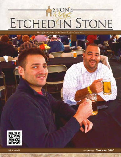 November 2014 Etched In Stone Newsletter