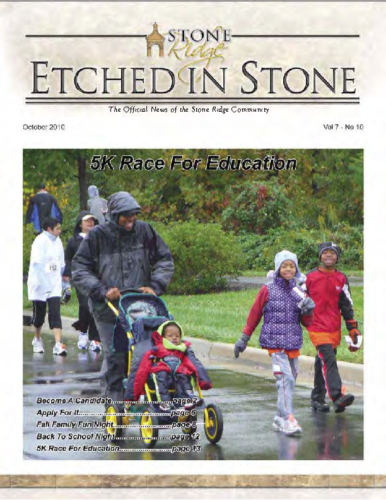 10 – October 2010 Etched In Stone Newsletter