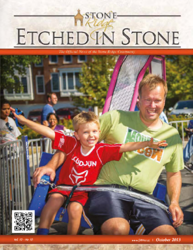 October 2013 Etched In Stone Newsletter
