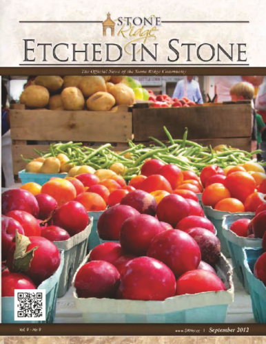 September 2012 Etched In Stone Newsletter