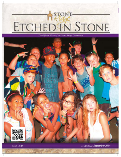 September 2014 Etched In Stone Newsletter