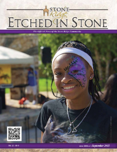 September 2015 Etched In Stone Newsletter