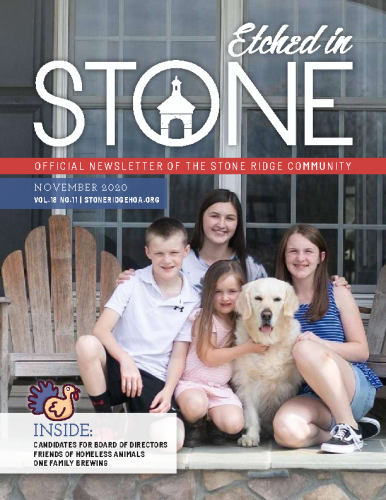 November 2020 Etched in Stone Newsletter
