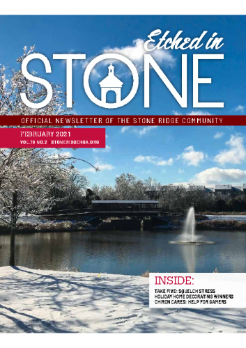 February 2021 Etched in Stone Newsletter